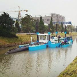 河道清淤挖泥船 离石50方小型河道清淤挖泥船价低