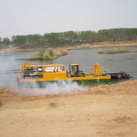 大型鱼塘机械式绞吸挖泥船清淤疏浚
