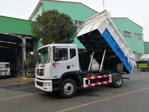 东风多利卡对接压缩垃圾车