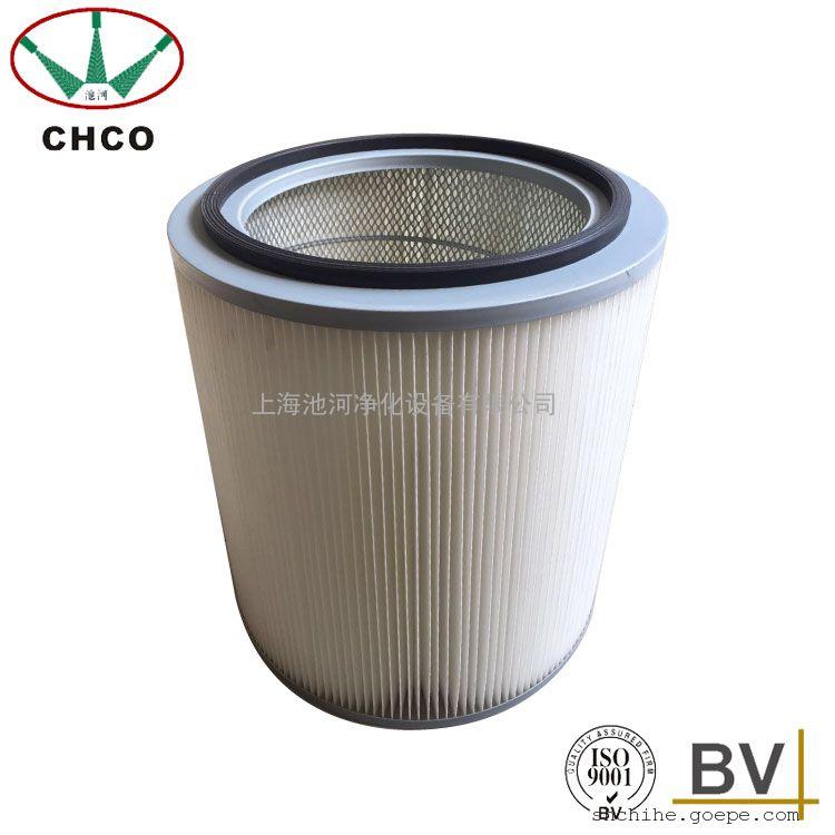 吊杆连接式滤芯滤筒 涂装焊烟除尘滤芯回收粉末滤芯