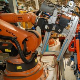 河北二手全自动点焊机器人定制 车床机械手