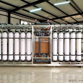 超滤清灰水设备 UF超滤水处理设备 超滤水处理装配
