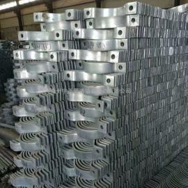 宇正制造 管夹 双孔管夹 三孔管夹 碳钢管夹 管道支吊架附件