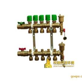 祝融环境地源热泵设计:Menred地暖集分水器
