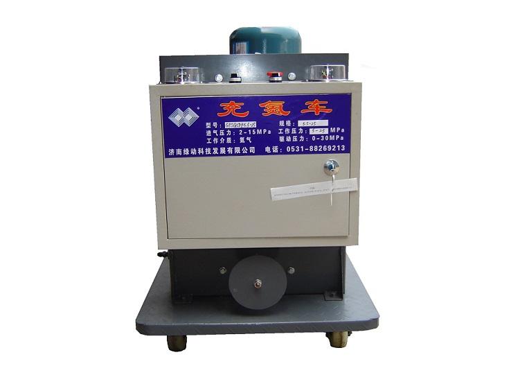 金东区蓄能器冲单车蓄能器充氮车