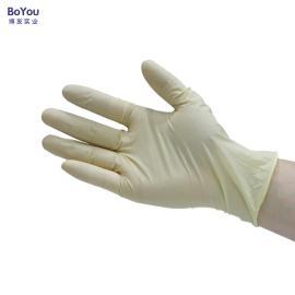 9寸一次性乳胶手套 医用实验室专用防护手套 工业使用手套批发