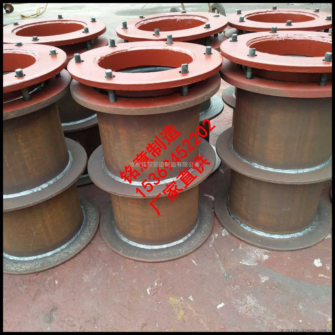 刚性防水套管厂家 铭意厂家直供刚性防水套管价格 A型套管