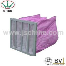 原厂直销 暖通空调用 铝框 F6中效袋式空气过滤器
