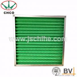 G4级初效过滤器板式初效空气过滤器绿白棉过滤器