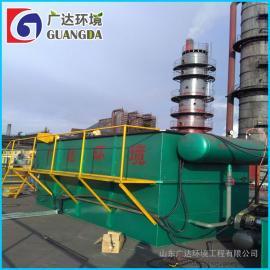 广达专业生产 高效溶气气浮设备 平流式气浮机 污水处理气浮机