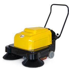 拓威克手推式双刷扫地机电动吸尘扫地车