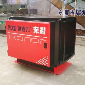 广东瑞喜力荣耀新系列静电油烟净化器设备 餐饮酒店厨房专用