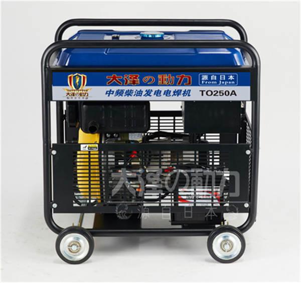 190A柴油发电电焊机组资料