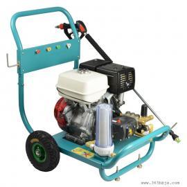 高压清洗机 500公斤汽油型工业用冲洗机 船舶表面清洗高压水枪
