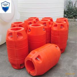 橙色60公分塑料浮球 水库警示浮球 管道拦污浮球