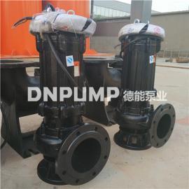 致力于污水处理工程潜水排污泵