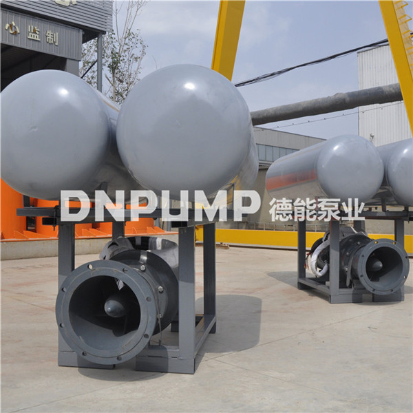 排水工程用的浮筒泵 德能泵业