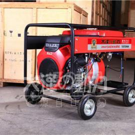 移动式300A汽油发电电焊机价格