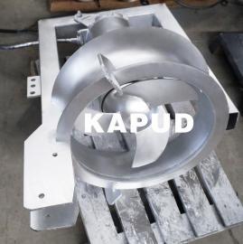 1.5KW穿墙混流泵 大流量低扬程内回流泵 凯普德