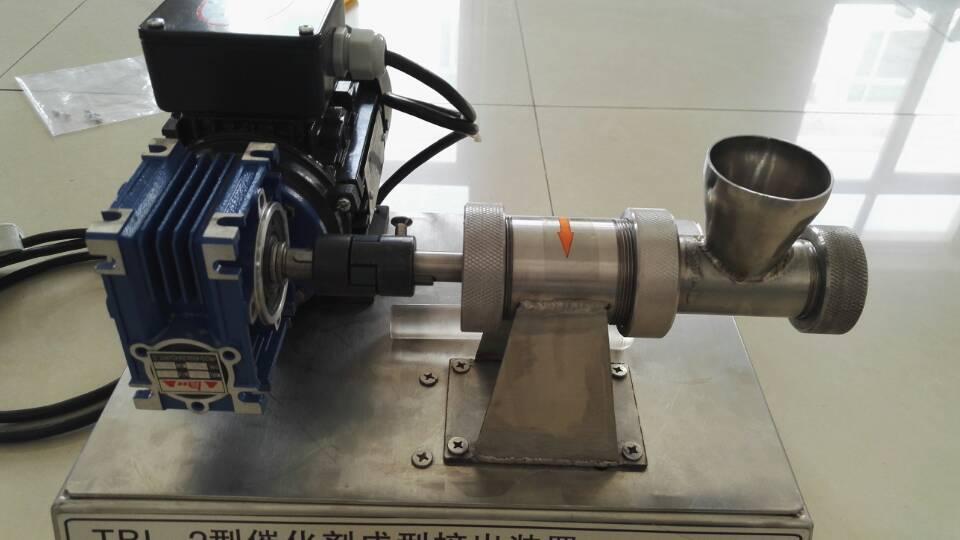 单螺杆催化剂成型挤条机实验室催化剂成型挤出装置山东济南青岛