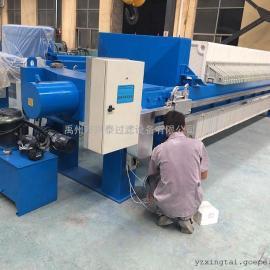 80平方自动保压厢式压滤机 电控机械压滤机