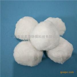 青海纤维球滤料 快滤池用高效纤维球