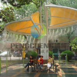 空调主机降温工程 冷雾降温设备 景区人造雾冷雾系统