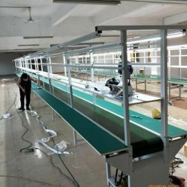 深圳电子厂流水线 独立台生产线 烤漆装配线 耳机喇叭厂生产线