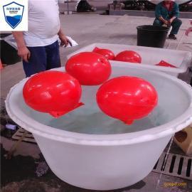 水库警示浮球 管道拦污浮球 疏浚浮球