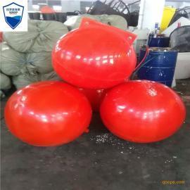 管道拦污浮球 疏浚浮球 塑料水上浮球
