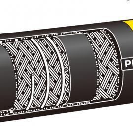 """德国ELAFLEX""""黄色带""""光滑口径的耐扭钢螺旋油罐车软管"""