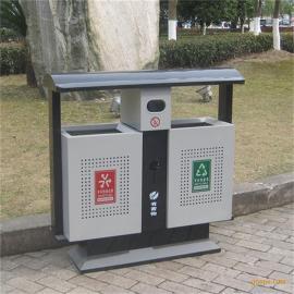 镀锌板冲孔环保垃圾桶 公园市政街道 分类垃圾桶果皮箱