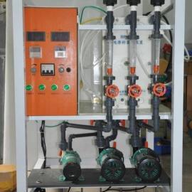 小型电渗析实验设备脱盐装置