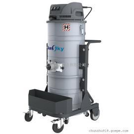 220V上下桶工业吸尘器车间打扫卫生吸尘器铁屑焊渣颗粒用吸尘器