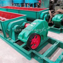 双轴粉尘加湿机SJ-60 双螺旋叶片搅拌机 强制式加湿搅拌机