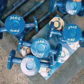 铭意厂家供应水流指示器_DN150螺纹连接水流指示器