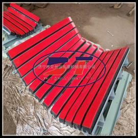 矿用抗冲击橡胶缓冲床,橡胶层安全性高,三点减震缓冲床