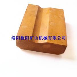 矿用耐磨型驱动轮衬块98*77*28,橡胶衬块