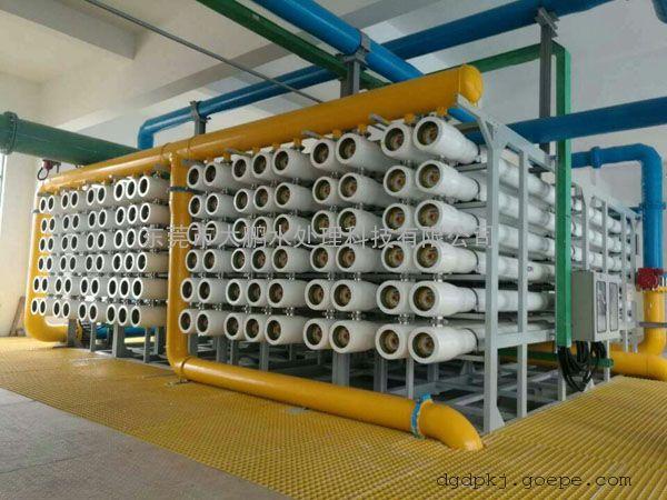 江苏大型工业纯水设备 制药厂用纯化水设备 双级反渗透设备