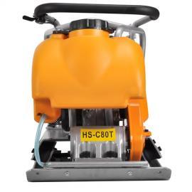 汉萨汽油平板夯HS-C80T的压实深度