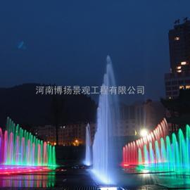 鹿邑喷泉设计,鹿邑音乐安装施工,河南博扬水系喷泉公司