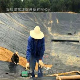 湖北枝江 沼气工程 软体沼气池 黑膜沼气池建设
