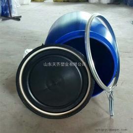 30升抱箍塑料桶30公斤化工塑料桶法�m桶