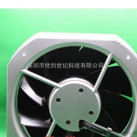 西德ebmpapst W2E200-HH38-07 22580 230V 80W 威图机柜散热风机