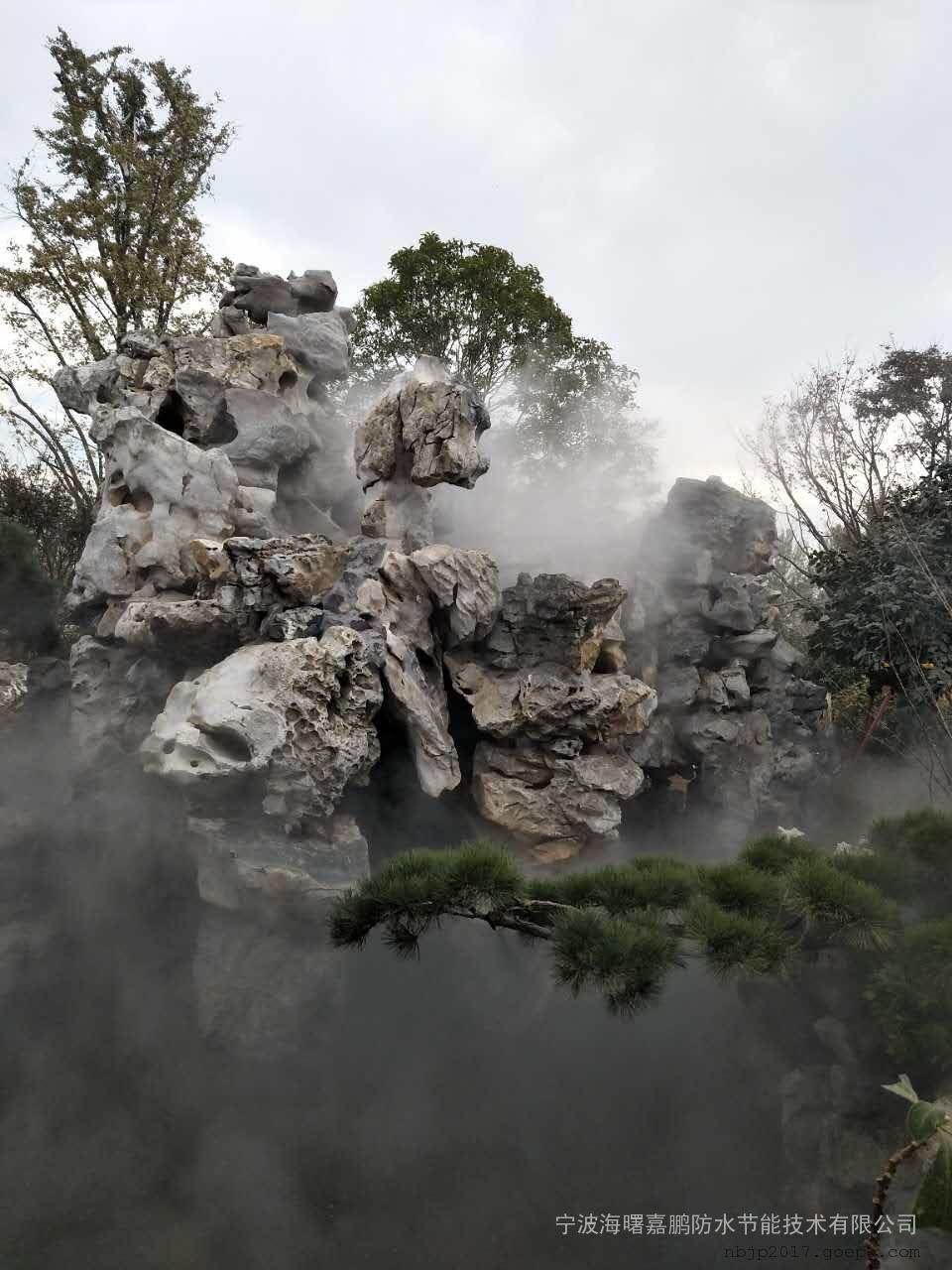 上海喷雾降温设备-户外喷雾降温系统-温室景区喷雾降温工程