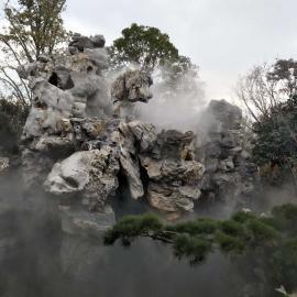 珠海喷雾降温工程-嘉鹏喷雾降温系统-景区喷雾降温设备