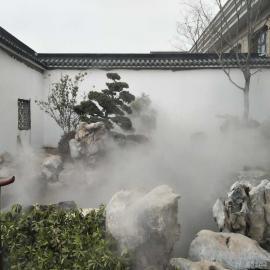 长沙户外喷雾降温-景区喷雾降温工程-嘉鹏高压喷雾降温系统