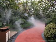 江西人造雾工程-人造雾景观设备-嘉鹏园林景区人造雾系统