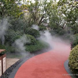 孝感喷雾降温设备-户外喷雾降温系统-景区喷雾降温工程