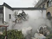 普洱人造雾工程-人造雾景观设备-嘉鹏园林景区人造雾系统